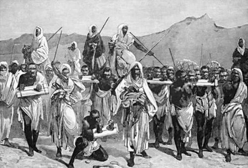 slave caravan